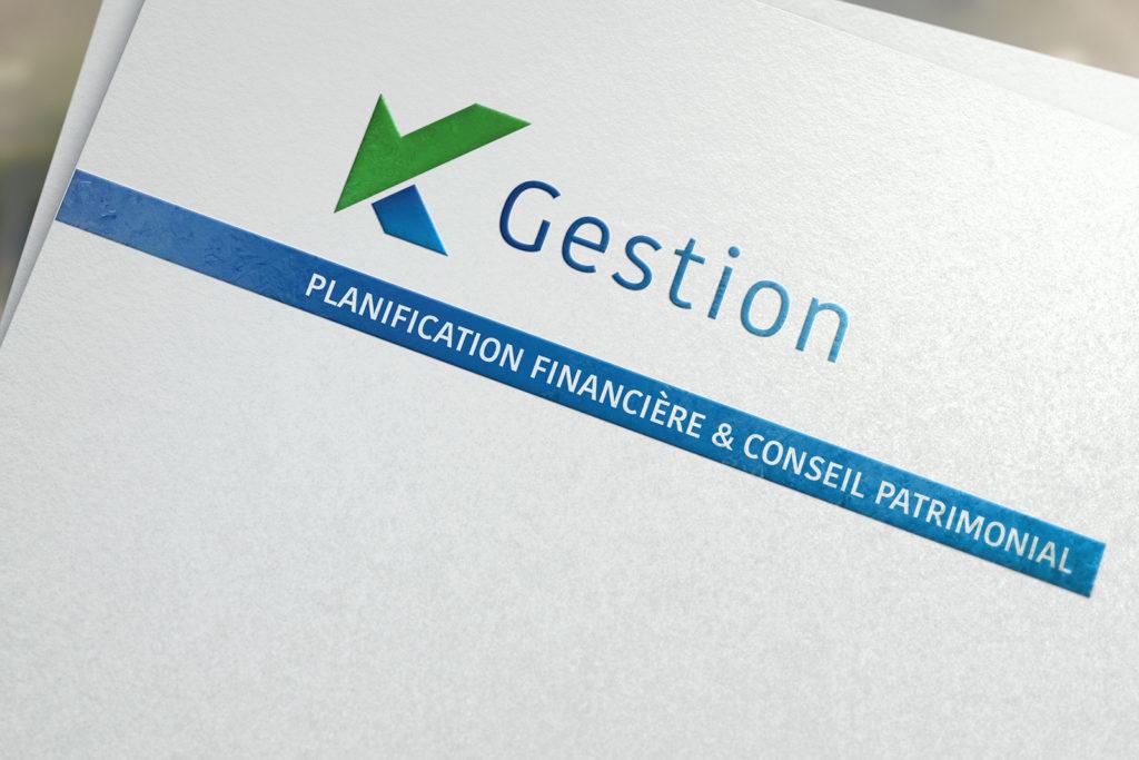 Logo pour K Gestion sàrl