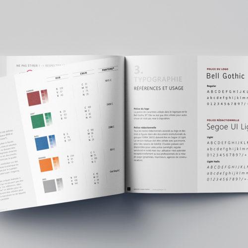 Charte graphique de Ferra Swiss Holding SA