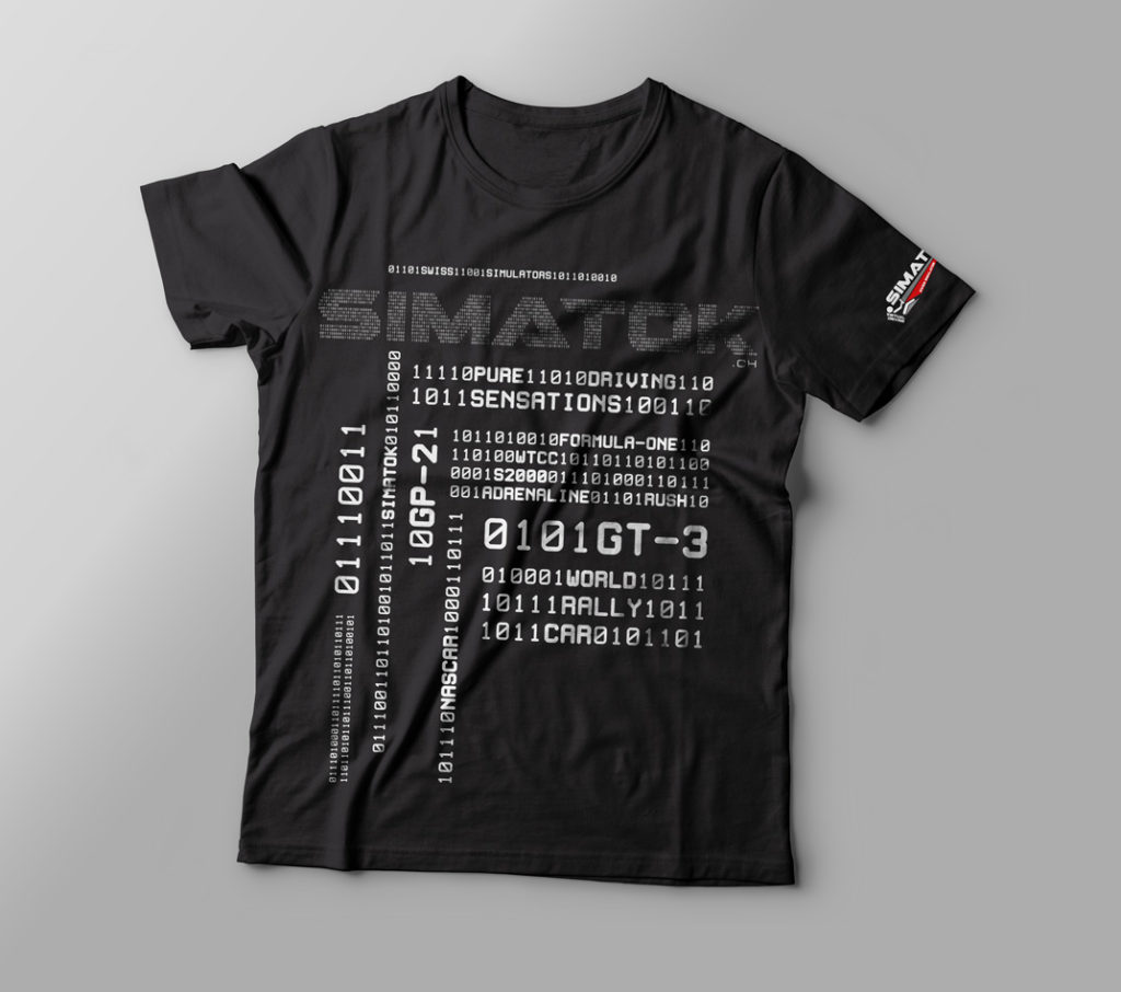 Design d'un t-shirt pour Simatok sàrl