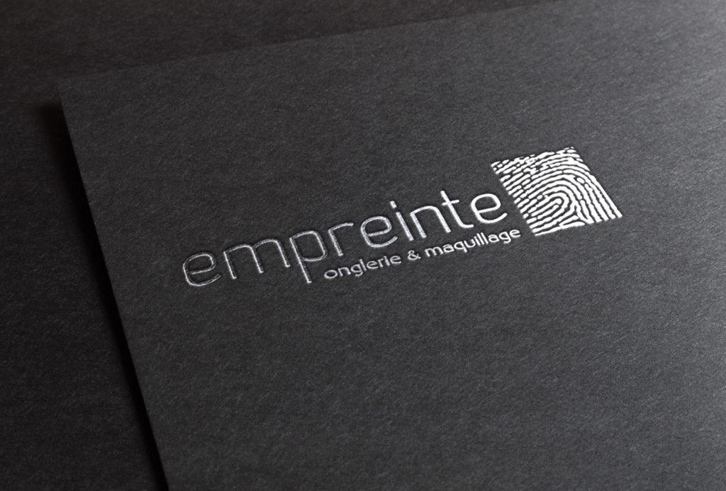 Logo pour l'onglerie Empreinte