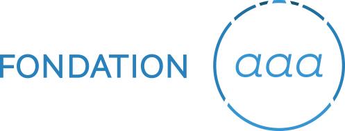 Logo de la Fondation aaa