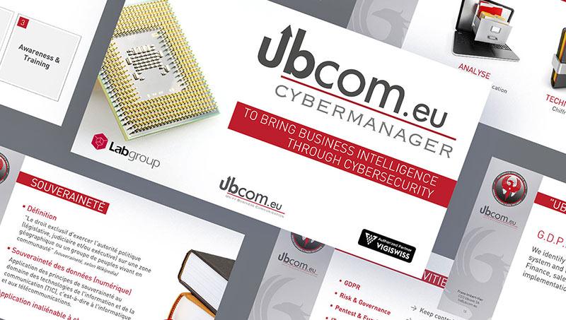 Ensemble de slides powerpoint Ubcom