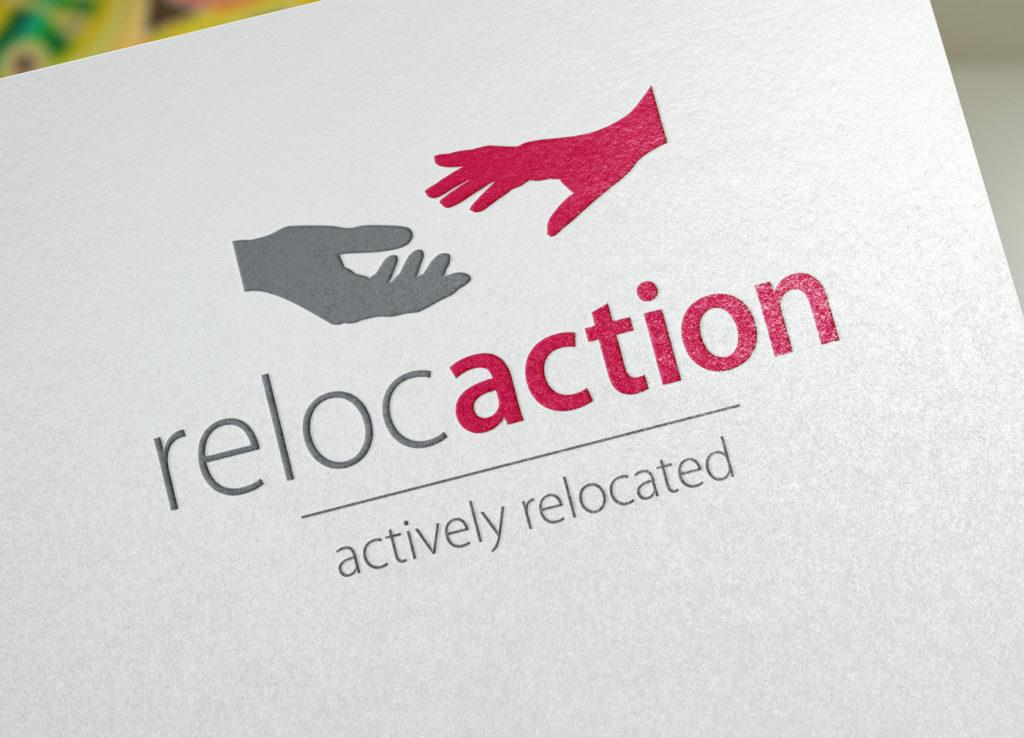 Refonte du logo Reloc'Action sàrl